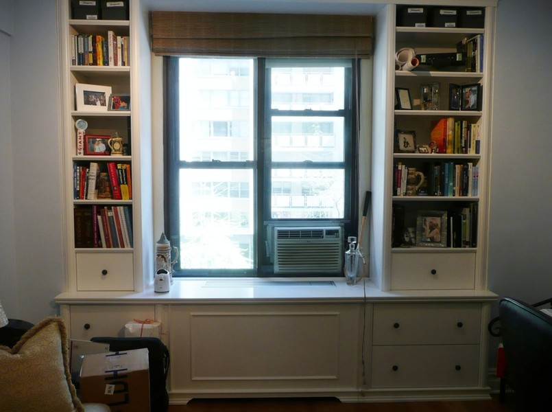 9 Custom Radiator Covers Enclosures Window Seats Wall Bookcases Bookshelves