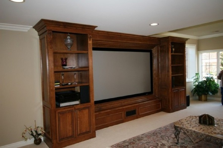 8 Tv Entertainment Center Wall Unit Cabinet Cabinetry Custom Built Nyc New York City Manhattan Ny