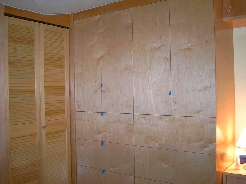 4 Bedroom Walk In Reach In Closet Wardrobe Furniture Armoire Wall Unit  Cabinet Storage