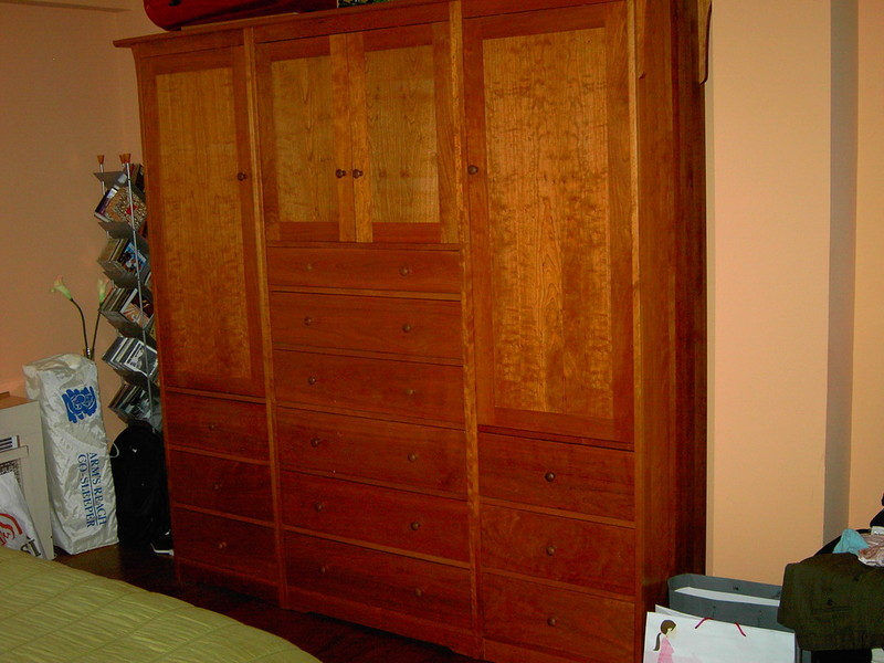 12 Bedroom Walk-In Reach-In Closet Wardrobe Furniture Armoire Wall Unit Cabinet Storage & NYC Custom Built Bedroom Walk-In u0026 Reach-In Closets Wardrobes ...