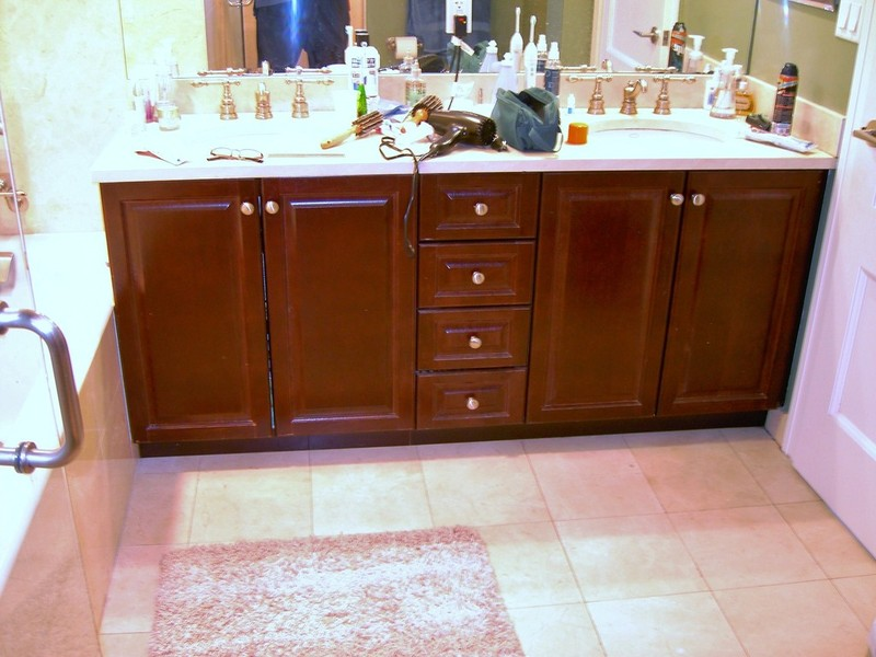 NYC Custom Bathroom Vanity Cabinets Designed & Custom Made To Fit Exactly. Manhattan, Brooklyn