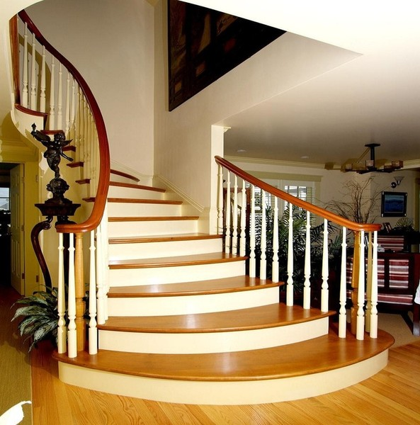 Staircase Remodel: NYC Wood Stairs: We Design, Build, Install New Or Repair