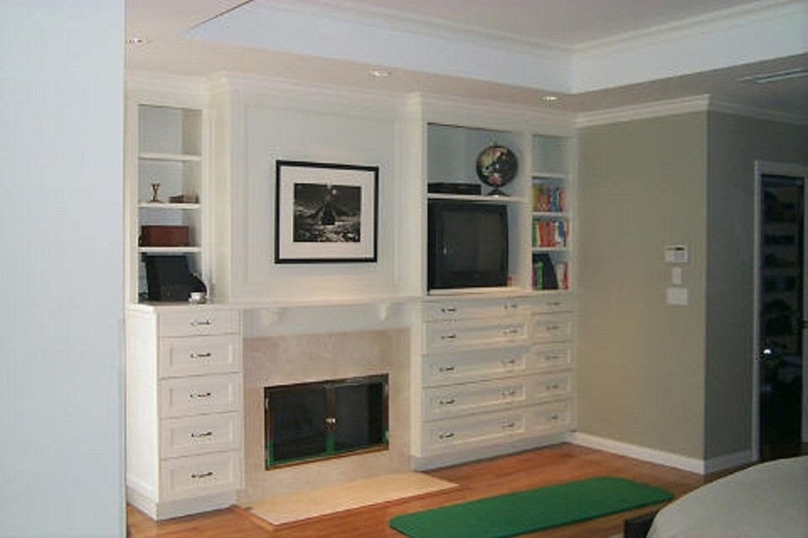 NYC Custom Built In Fireplace Bookcases Bookshelves Wall Units NYC ...