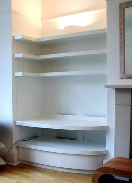 NYC Custom Built In Fireplace Bookcases Bookshelves Wall ...
