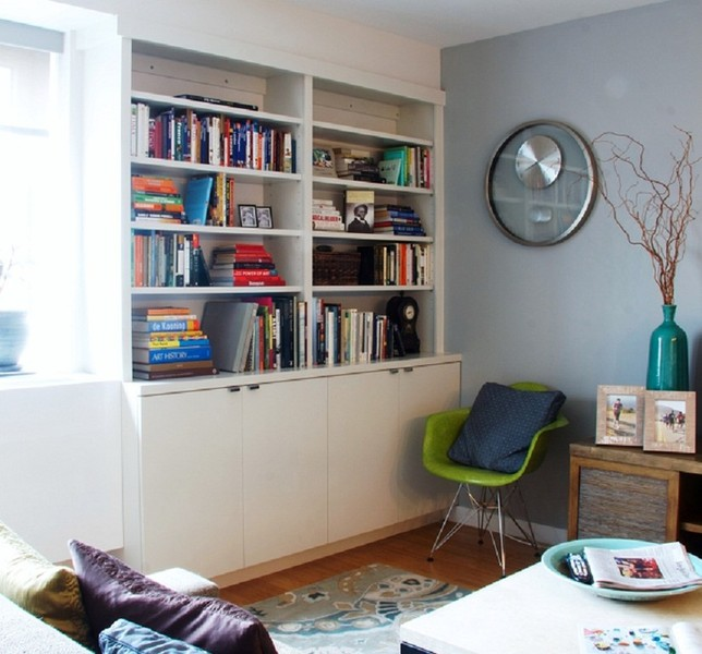 NYC Custom Built In Bookcases Bookshelves Wall Units Cabinetry ...