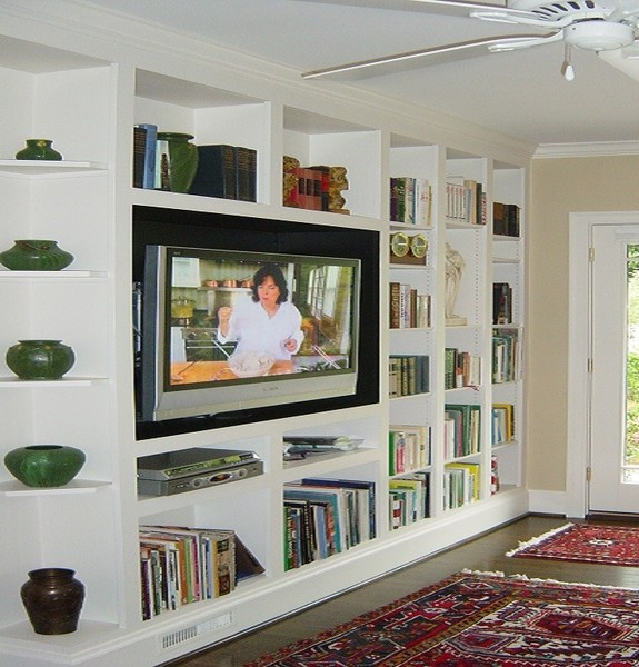 3 Bookcases Wall Units Bookshelves Cabinetry Cabinets Shelves Shelving Custom Built Nyc New York City Manhattan