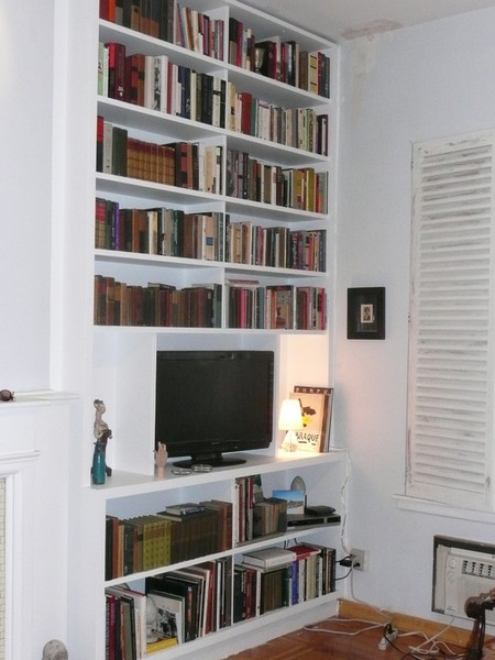 4 Bookcases Wall Units Bookshelves Cabinetry Cabinets Shelves Shelving Custom Built Nyc New York City Manhattan