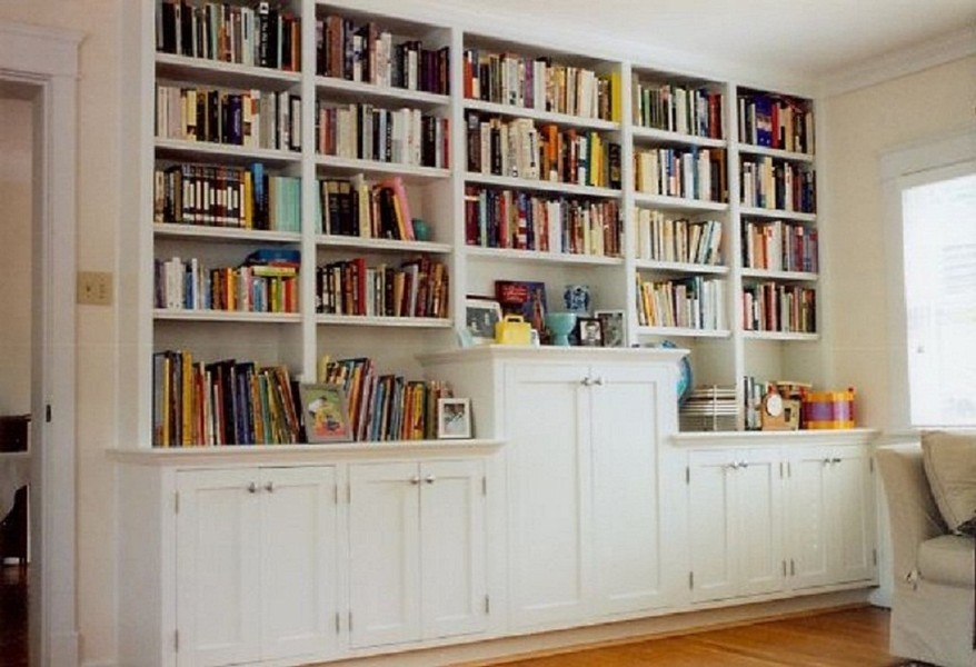 project unit bookcase bookcases wall custom artisan