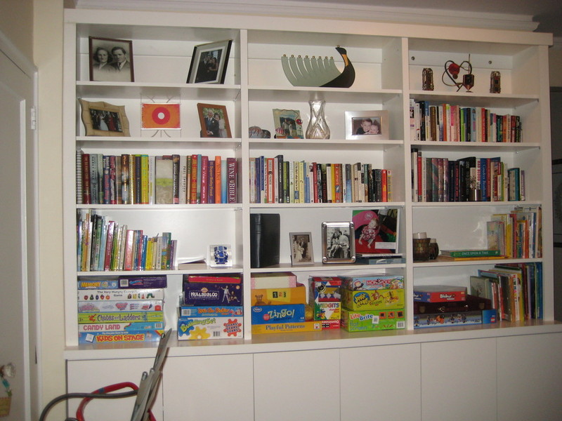 16 BOOKCASES WALL UNITS BOOKSHELVES CABINETRY CABINETS SHELVES SHELVING CUSTOM BUILT NYC NEW YORK CITY MANHATTAN