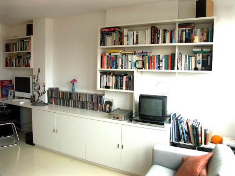 22 BOOKCASES WALL UNITS BOOKSHELVES CABINETRY CABINETS SHELVES SHELVING CUSTOM BUILT NYC NEW YORK CITY MANHATTAN
