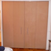 Picture Above Of 12 Foot Wide By 8 High Bi Fold Custom Closet Door Built Nyc New York City Manhattan Ny